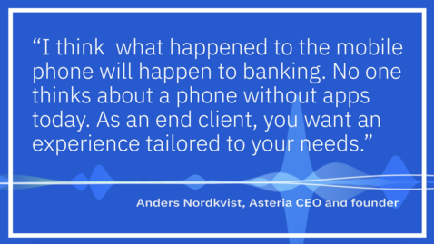 Thumbnail for entry Asteria CEO Interview:  Audiogram