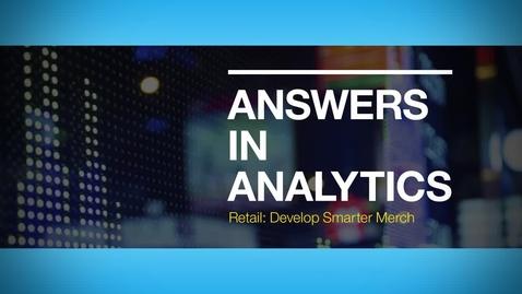 Thumbnail for entry Vaasan Oy uses IBM Analytics to analyze social media and customer behavior