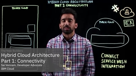 Thumbnail for entry Hybrid Cloud Architecture Part 1: Connectivity