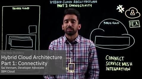 Thumbnail for entry Hybrid Cloud Architecture Part 1: Connectivity