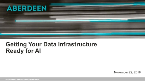 Thumbnail for entry Getting Your Data Infrastructure Ready for AI