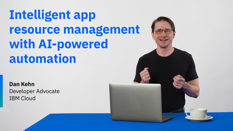 Thumbnail for entry Intelligent app resource management with AI-powered automation