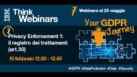 Thumbnail for entry GDPR Privacy Enforcement 1: Records of processing activities (art.30)