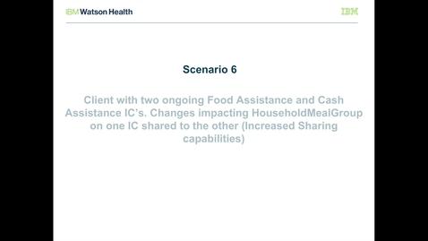 Thumbnail for entry IBM Cúram Social Program Management V7.0.2 evidence broker: Increased sharing capabilities