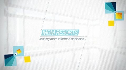 Thumbnail for entry MGM Resorts International – big wins for performance management and budgeting with Aviana and IBM