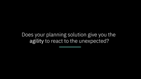 Thumbnail for entry IBM Planning Analytics: What if you could see the impact of decisions before making them?