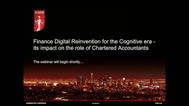 Thumbnail for entry Finance Digital Transformation for the Cognitive Era
