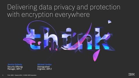 Thumbnail for entry Think2020 现代化架构——数据隐私