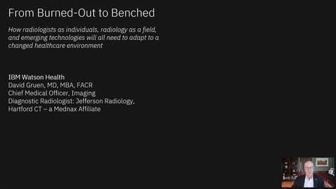 Thumbnail for entry From Burned Out to Benched