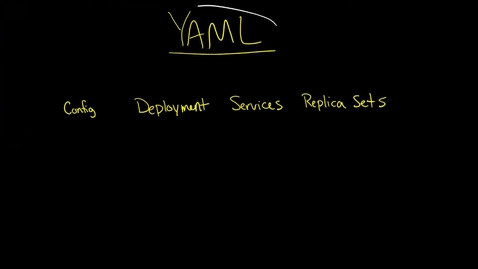 Thumbnail for entry Introduction to YAML data types scalar sequence mappings nodes documents anchors