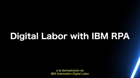 Thumbnail for entry Automate Invoice Entry using IBM RPA with Automation Anywhere