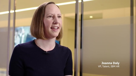 Thumbnail for entry IBM VP of Talent, Joanna Daly, on the value of AI in recruiting