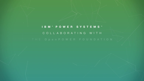 Thumbnail for entry IBM and OpenPOWER Partner with Oak Ridge National Labs to Solve World's Toughest Challenges