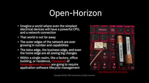 Thumbnail for entry Open-Horizon 简介