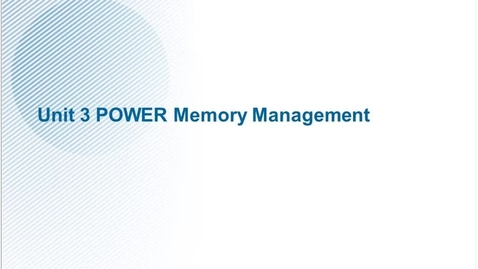 Thumbnail for entry AHQV254 SSE - Linux Performance Management-Unit 3