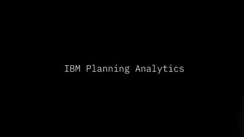Thumbnail for entry IBM Planning Analytics para Microsoft Excel