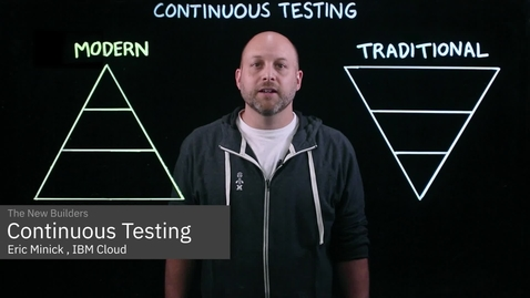 Thumbnail for entry What is Continuous Testing?