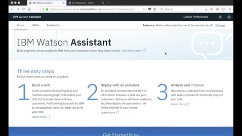 Integrating Facebook Messenger with Watson Assistant