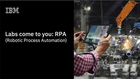 Thumbnail for entry Capacidades de IBM Hyperautomation y tecnología IBM RPA