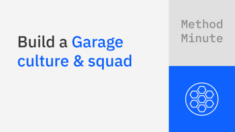 Thumbnail for entry Build a Garage culture and squad