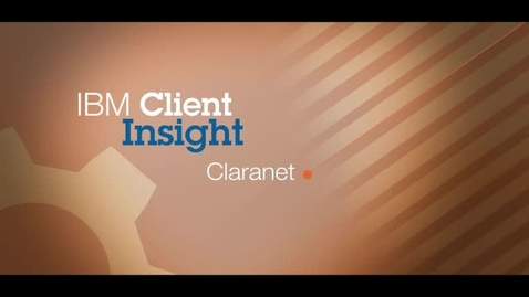 Thumbnail for entry Claranet reduces alarms by nearly 50 percent using IBM Netcool software