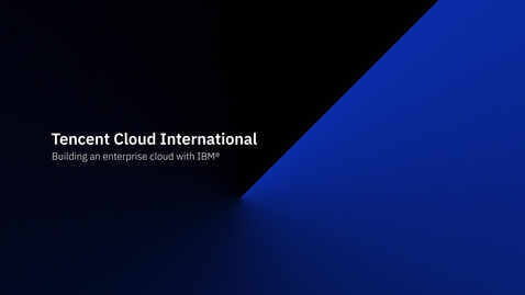 Thumbnail for entry Building an Enterprise Cloud with IBM