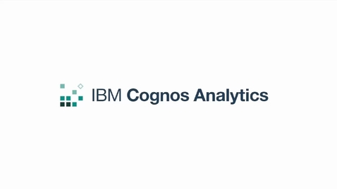 Thumbnail for entry Manage Security in Cognos Analytics