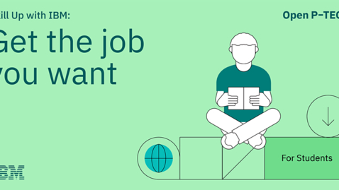 Thumbnail for entry Skill Up with IBM: Get the job you want