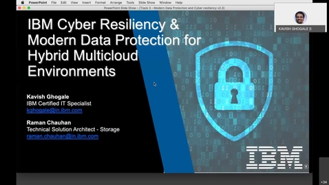 Thumbnail for entry Spectrum User Group Forum: Modernize your Data Protection for a Hybrid Multi-Cloud Environment