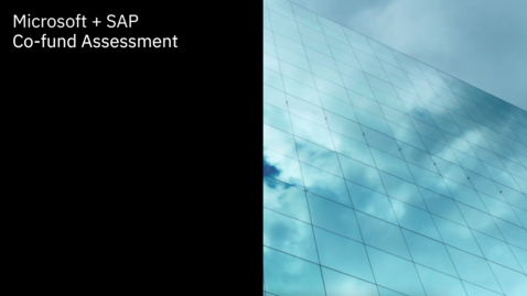 Thumbnail for entry IBM & Microsoft investment for a co-funded assessment for SAP clients