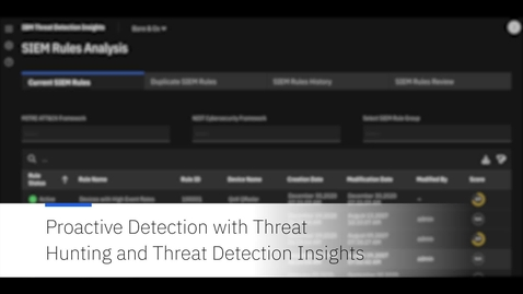 Thumbnail for entry Proactive detection for AWS