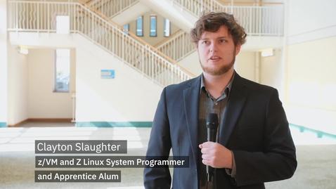 Thumbnail for entry New to Z Spotlight : Clayton Slaughter