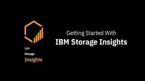 Thumbnail for entry Assigning data collectors in IBM Storage Insights
