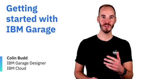 Thumbnail for entry Начало работы с IBM Garage