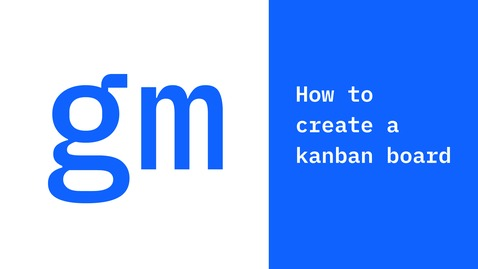 Thumbnail for entry Method Minute: How to create a kanban board