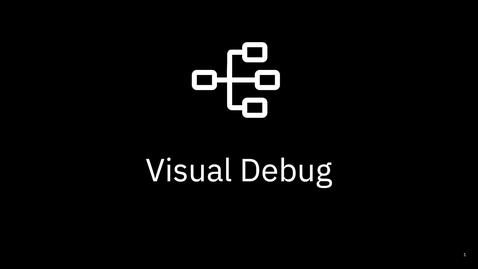 Thumbnail for entry z/OS Visual Debugger