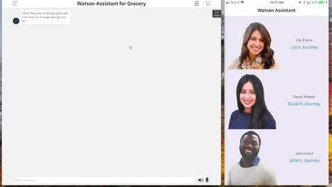 Thumbnail for entry IBM at NRF 2019:スマート・ショッピング・アシスタント