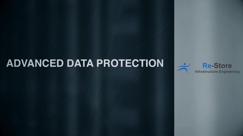 Thumbnail for entry Re-Store provides data protection with IBM Spectrum Protect