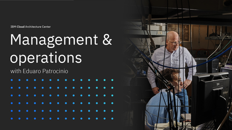 Thumbnail for entry Management and operations with Eduardo Patrocinio