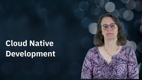 Thumbnail for entry Cloud Native Development with IBM Z