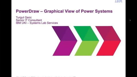 Thumbnail for entry Demo_ PowerDraw - Graphical View of Power Systems