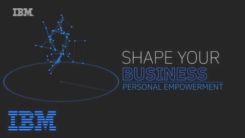 Thumbnail for entry Shape Your Business Webinar Series Trailer