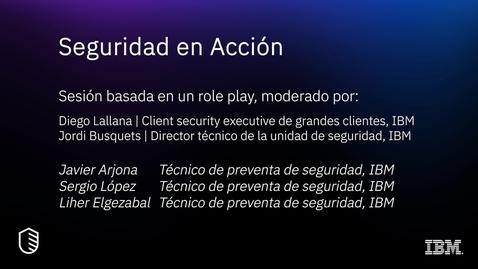 Thumbnail for entry Seguridad en acción