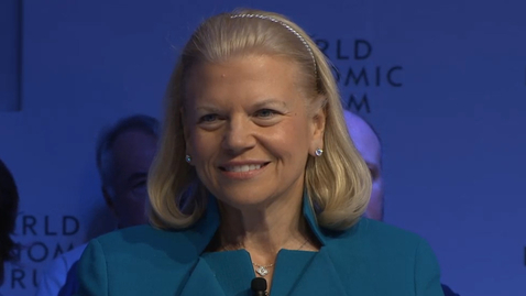 Thumbnail for entry World Economic Forum - An Insight An Idea with Ginni Rometty