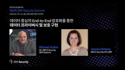 Thumbnail for entry 제6회 IBM Security Summit - 데이터 중심 엔드투엔드 암호화를 통한 데이터 프라이버시 보호 구현