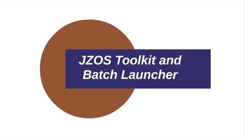 Thumbnail for entry Java for z/OS APIS