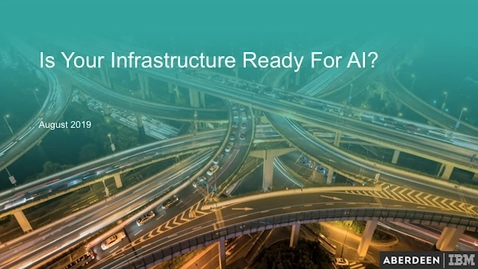 Thumbnail for entry Is Your Infrastructure Ready For AI?