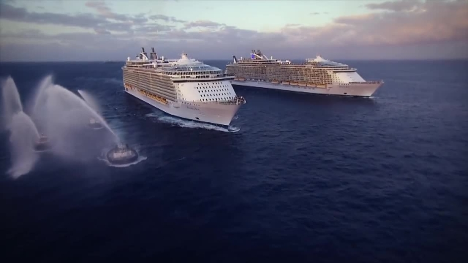 The two largest cruise ships in the world depend on IBM Storwize