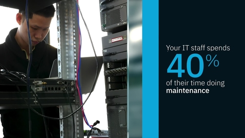 Thumbnail for entry IBM テクノロジー・サポート・サービスの優位性