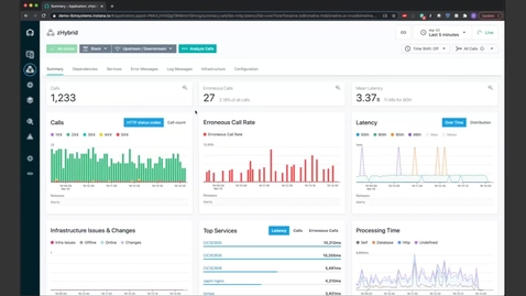 Thumbnail for entry Monitor your Z Workloads with Instana using IBM Z APM Connect